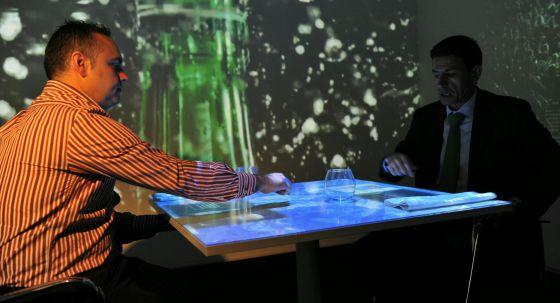 Una simulación en el LabHuman de la Universidad Politécnica de Valencia.