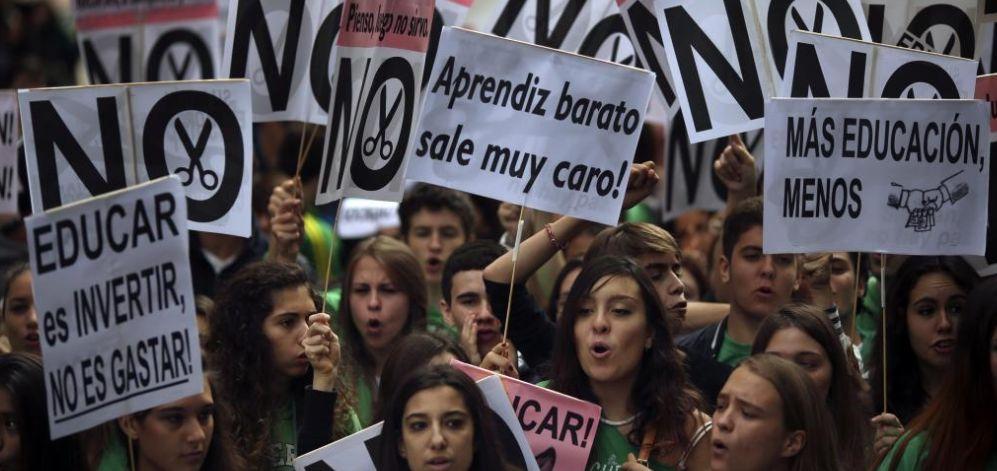 Huelga histórica en Educación | ELMUNDO.es